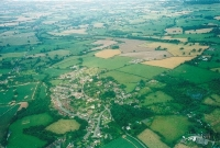 Aerial view of Orleton